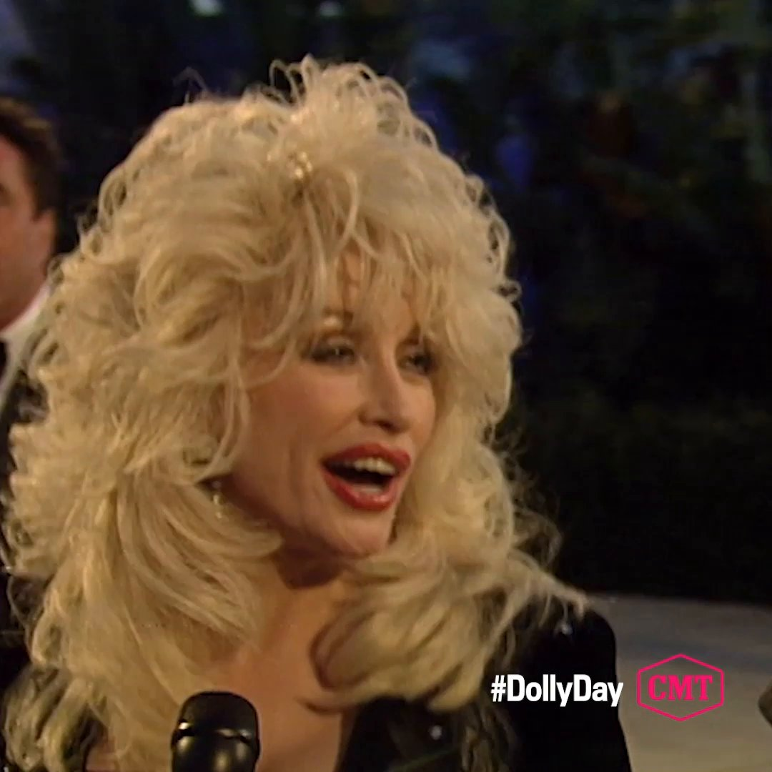 We wanna party with Dolly! 💃 🎉 #DollyDay