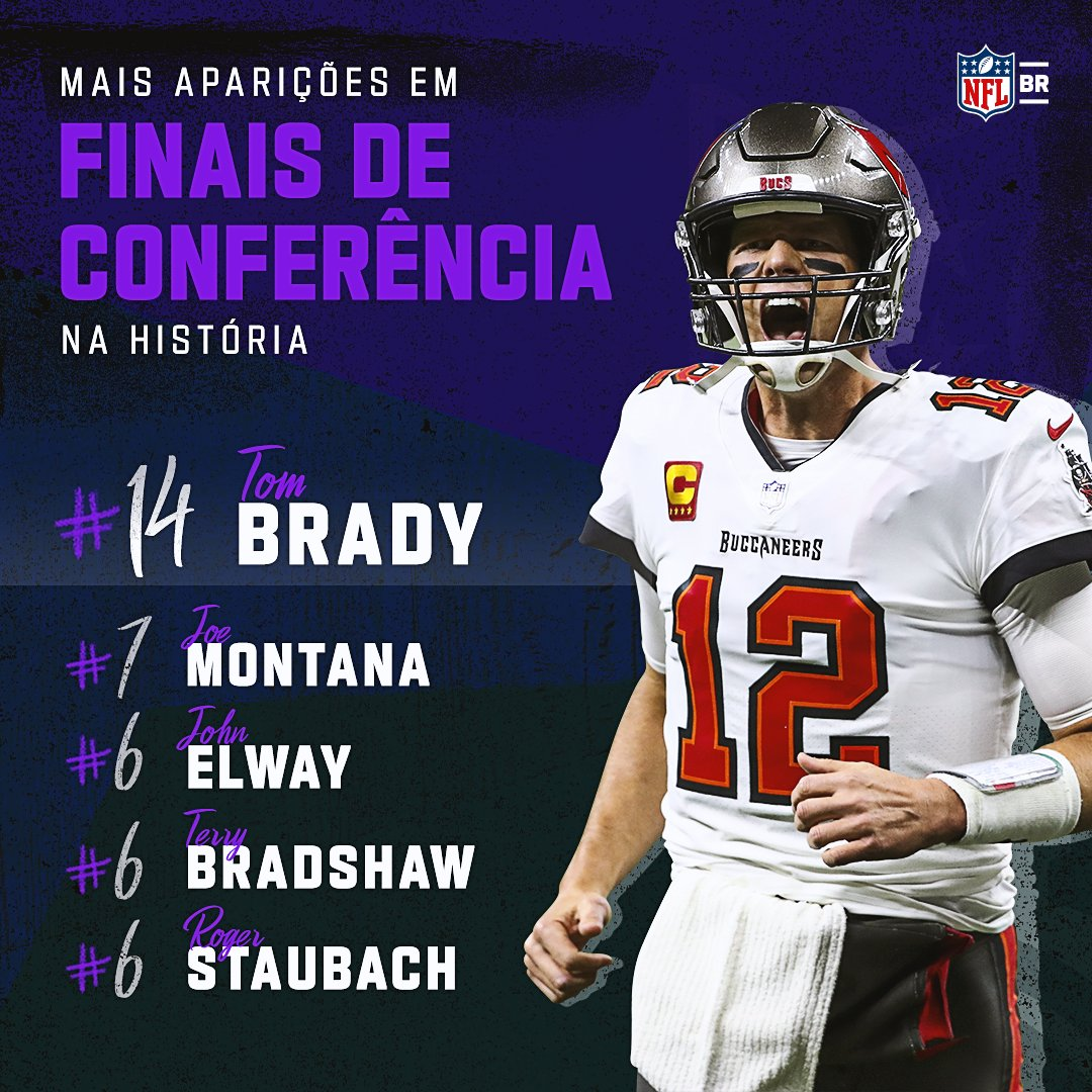 Tom Brady só consegue chegar longe em New En...... 🤐 #NFLBrasil