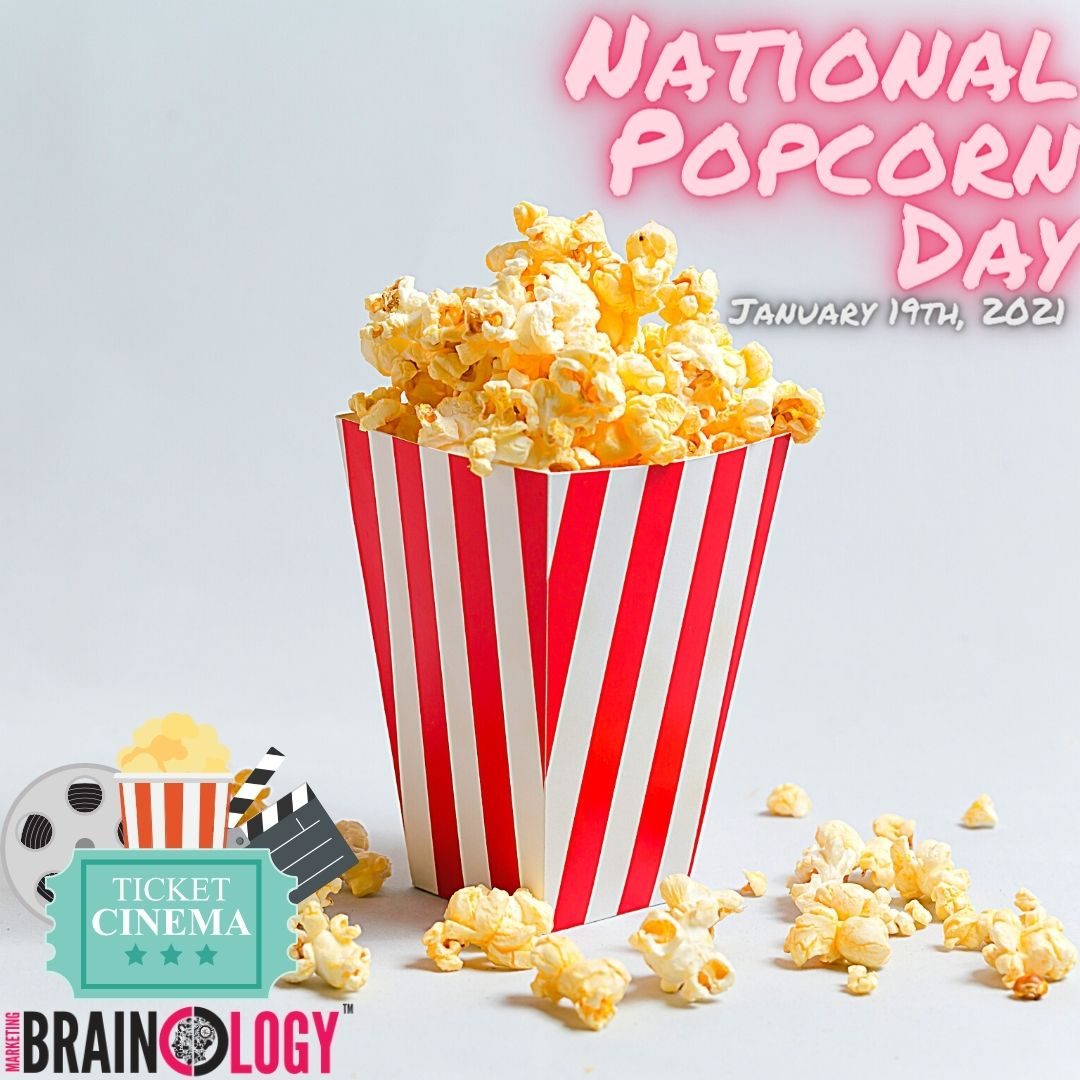 Popcorn 🍿 can be a healthy snack 👅 why don't you enjoy 👍 some with a good show or movie 📽️  #MarketingBrainology #NationalPopcornDay2021 #Snacks #TreatYourself #Foods #MovieSnacks #HealthySnacks #NationalPopcornDay #Food #Healthy #Delicious #Snack #Yum #HealthySnack #Eat