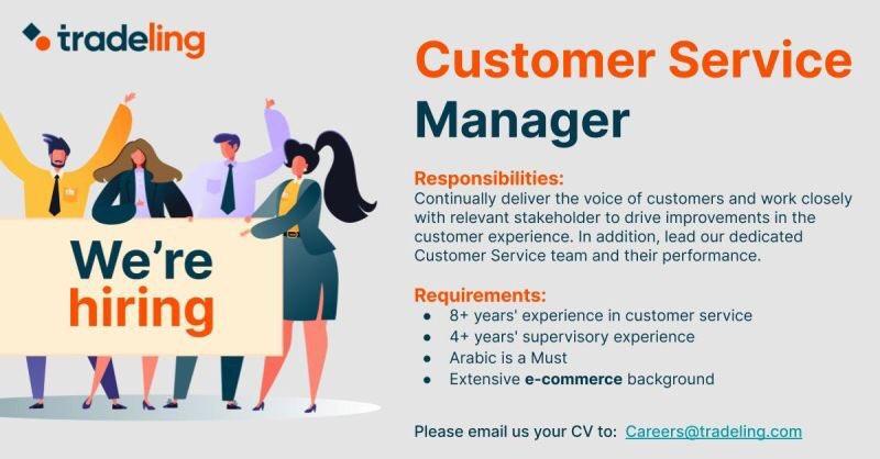 #UAE #CustomerService #FindMeAJob #Repost