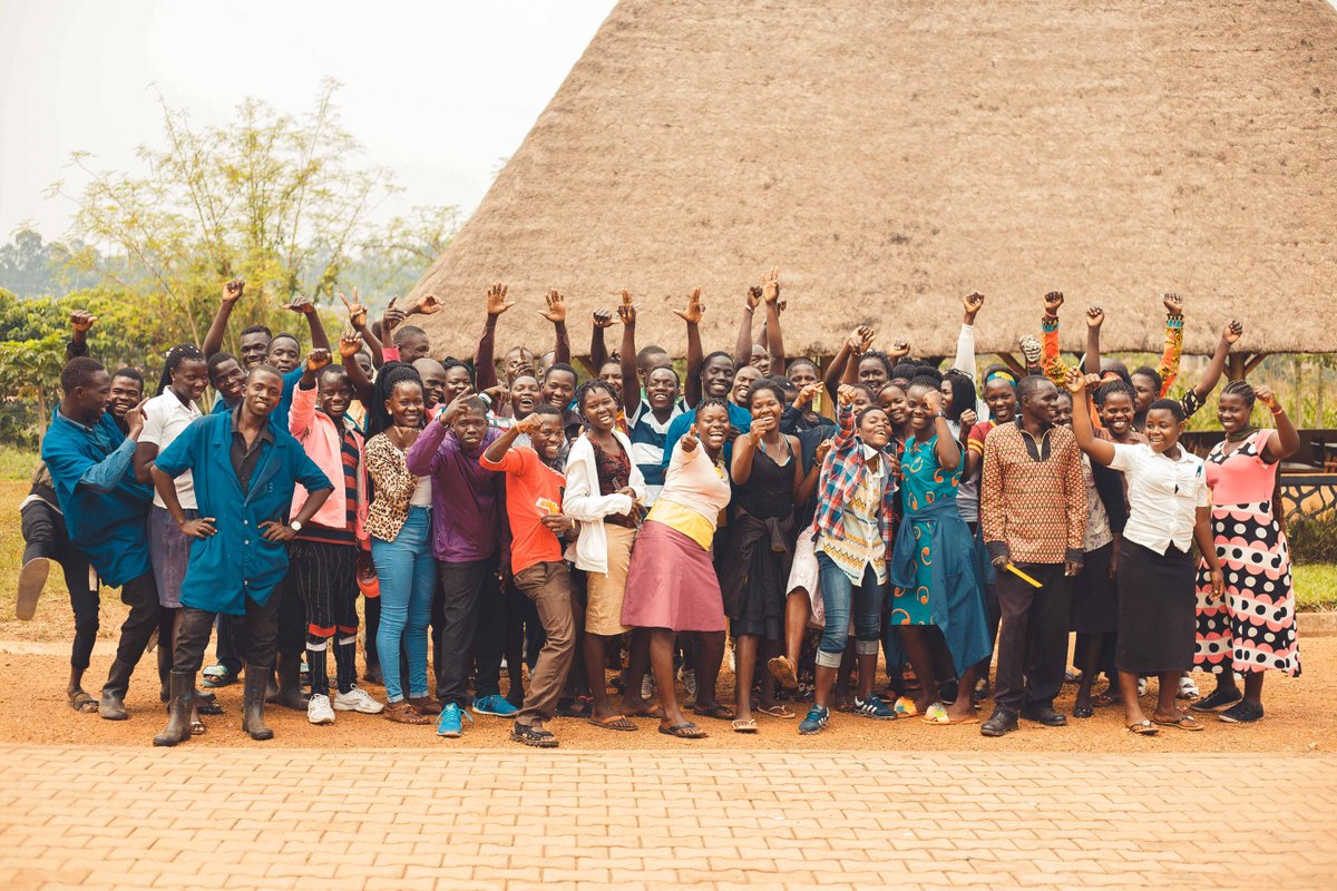 Here they are! We are SO excited to welcome these 48 Kira Farm trainees and can't wait to begin a year of healing, learning and growing together. How much joy can you fit in one photo?! 😄   #ngo #charity #nonprofit #uganda #love