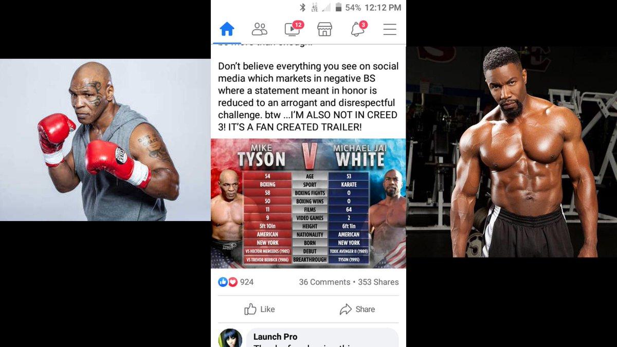 Who Would Win? #michaeljaiwhite #miketyson #boxing #martialarts