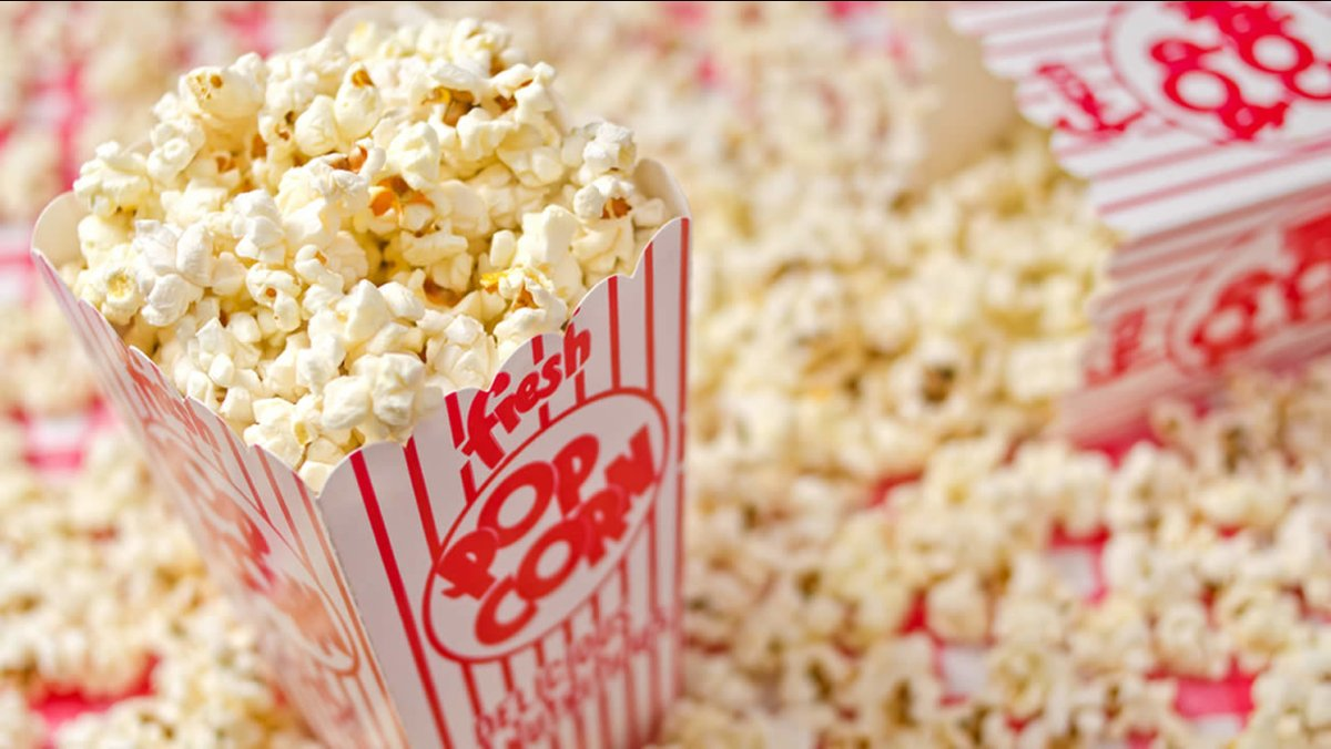 Happy #NationalPopcornDay! Always a crowd favorite in the Bren! Grab your favorite bucket and watch UCI athletic events online!