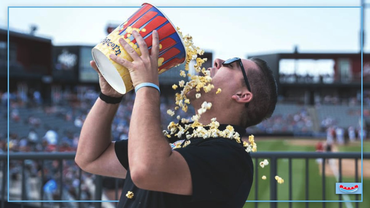 Happy #NationalPopcornDay! 🍿  We can't wait to get the 2021 season poppin'!  #NoKetchup🌭