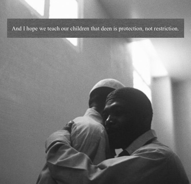 Deen is protection, not restriction.