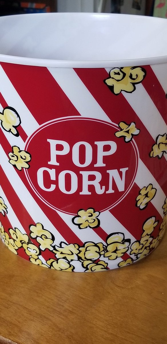 Happy #NationalPopcornDay  new bucket is ready for action!!