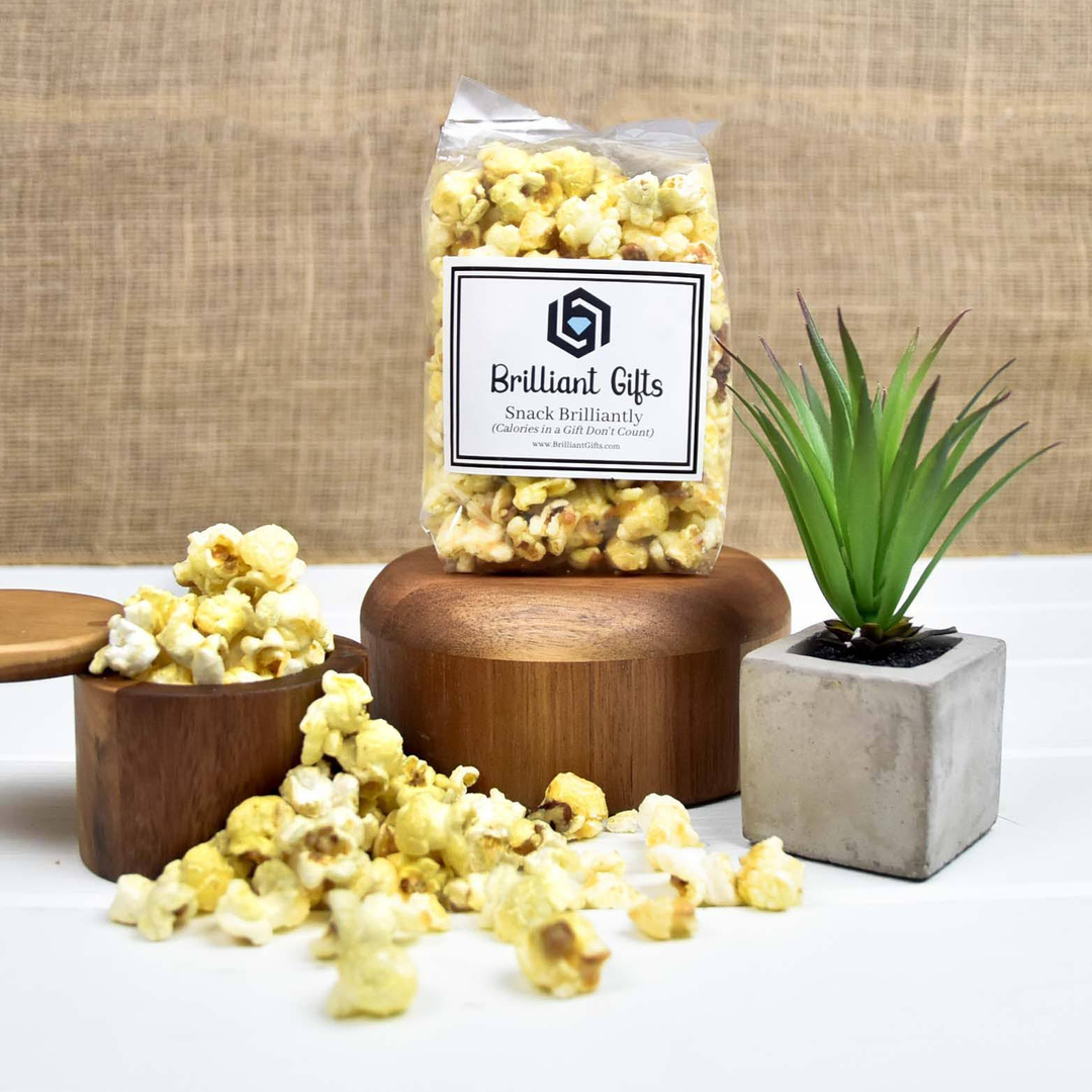 Did you know that it is #NationalPopcornDay  From berries & cream to butter pecan we here at Brilliant Gifts love our favorite gourmet popcorn. What is your favorite flavor of popcorn??