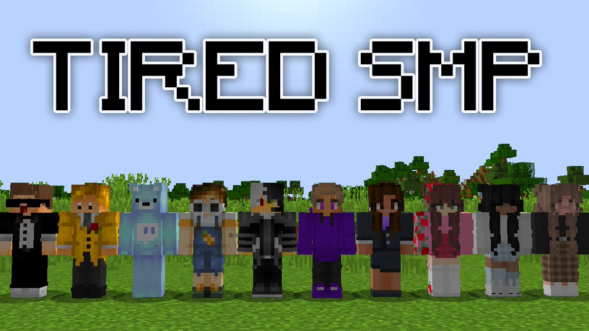 Replying to @krustydavidd: tiredtwt smp - 6pm est today