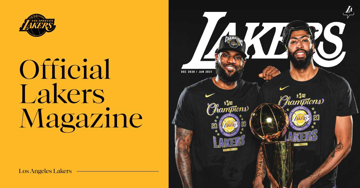 Check out the first issue of Lakers Magazine and relive the team bringing home title 17.   📖 >> https://t.co/71giCogyWA https://t.co/oqZrpSfgXA