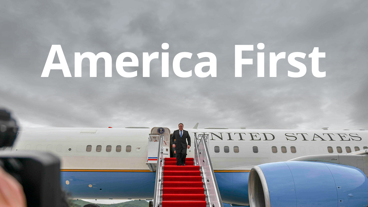 The duty to secure America First never ends.