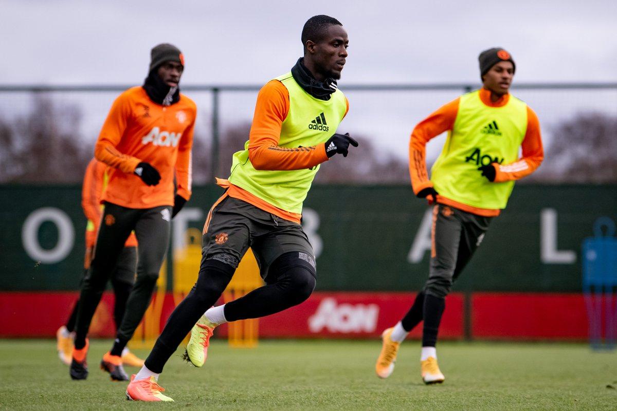 🎚 Turning up the intensity 🔥  #MUFC #FULMUN