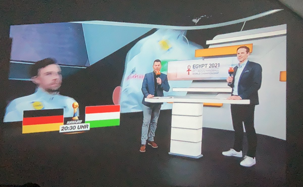 Quite excited for some #handball 🤾♂️ watching @DHB_Teams 🇩🇪 play  against @MKSZhandball in the 2021    World Cup @Egypt2021EN https://t.co/eStyqLvFp1