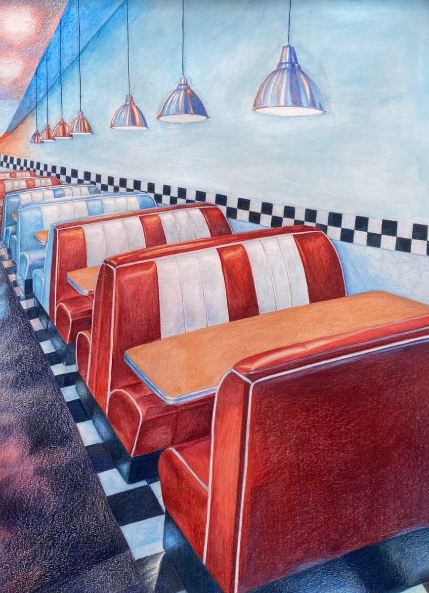 Replying to @TE_FineArts: Isabel's final color interior is making us miss indoor dining.