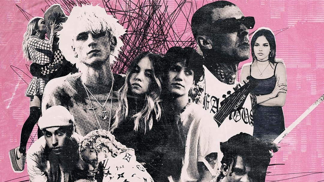 CHECK IT OUT: Watch @MachineGunKelly and @ModSun's cinematic pop-punk musical 'Downfalls High'