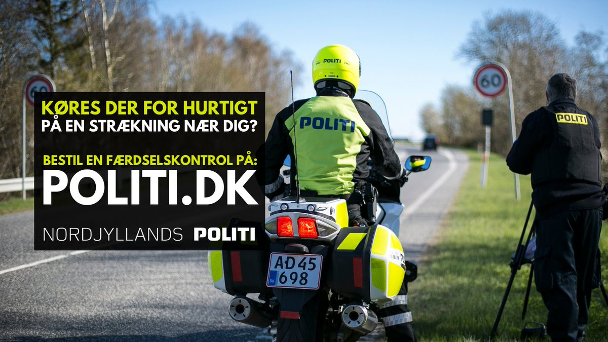 Køres der for hurtigt (eller for råddent) i dit nabolag?  En færdselskontrol er kun et klik væk – bestil vores betjente på:   ➡ https://t.co/EwiVRHGXTb   Og bare rolig – det koster dig ikke en dyt. #politidk #sikkertrafik https://t.co/KsCyxuQElF