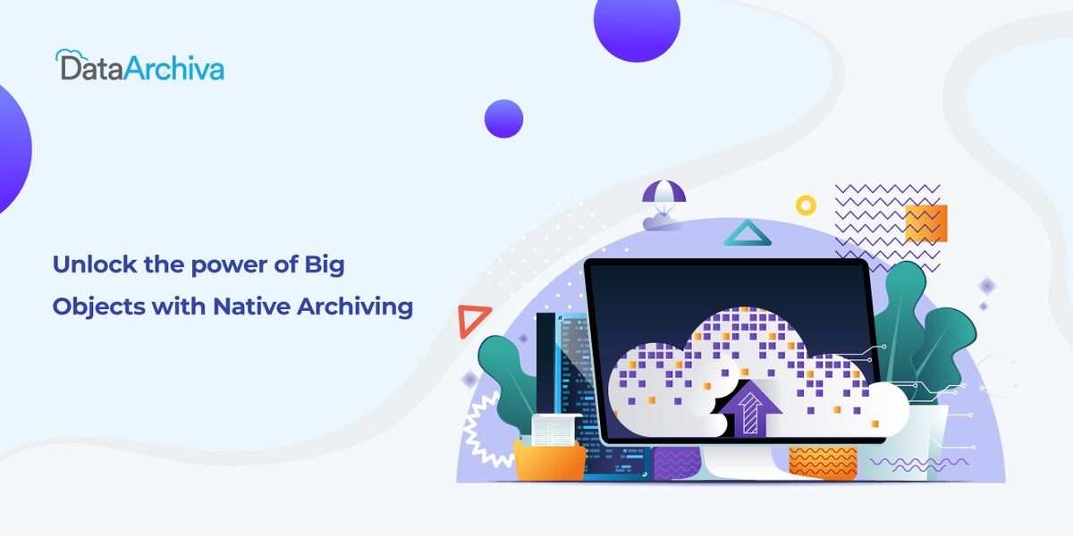 #DataArchiva helps #Salesforce admins archive their historical data at a 'native' level into the big data-based #BigObjects which provides additional security. Check out the app today!  #AppExchange #DataManagement #DataArchiving
