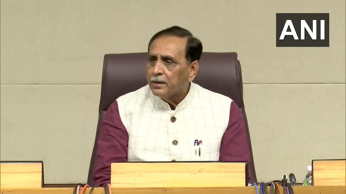 State government has decided rename Dragon Fruit. As the outer shape of the fruit resembles a lotus, hence Dragon Fruit shall be renamed as 'Kamalam': Gujarat CM Vijay Rupani (19.1)