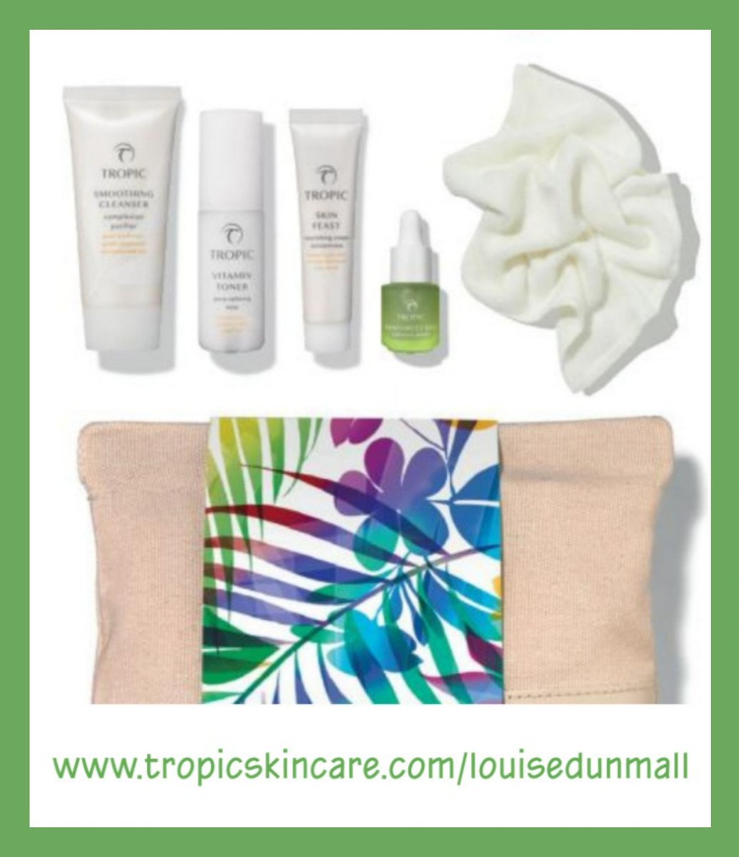 Are you still going out to buy your regular skincare brands?Why don't you give Tropic a try? Vegan, cruelty-free, naturally derived & made here in the UK 🇬🇧 #shopsmall #shoplocal  SHOP ONLINE NOW AT...