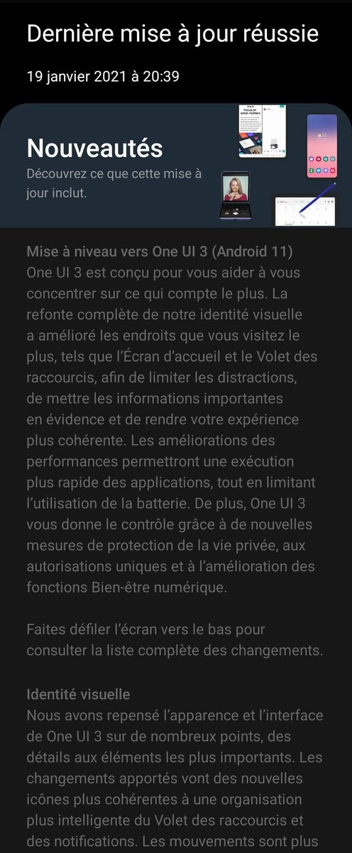 @SamMobiles #Android11 #OneUI3 #ZFold2 #GalaxyZFold2 SM-F916B #XEF #RCS
