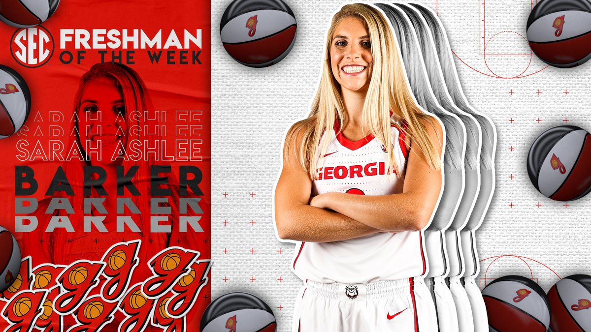 #SECWBB Freshman of the Week: @SarahAshlee10 Full release » bit.ly/39LM4Ui.
