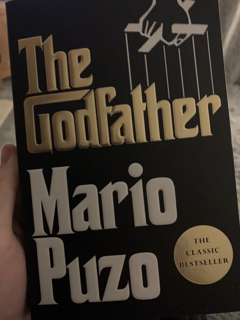 Just received this in the post.   Who's read the book? #TheGodfather