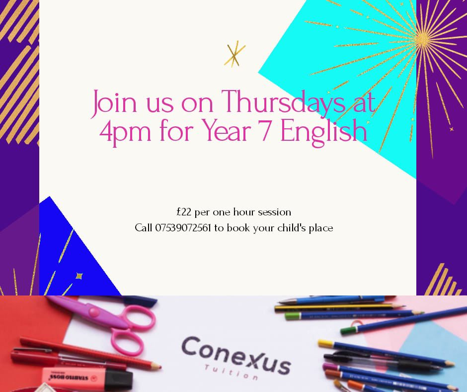 #year7 #english #maths #tuition #thursday #conexus #Liverpool #getintouch
