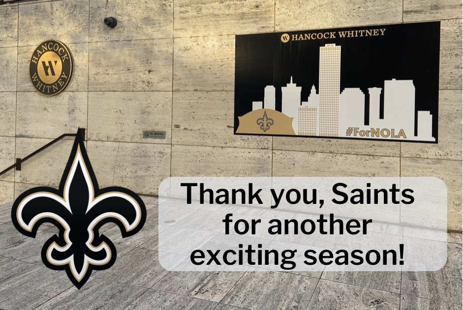 Thank you, @Saints for another exciting season. https://t.co/kGLlifQsAY