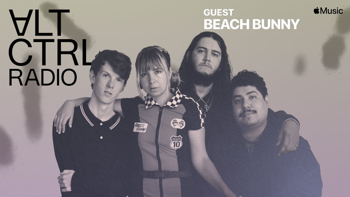"""🐰@BeachBunnyMusic kicks off 2021 with a new EP,  Lili opens up about writing it,  """"I had like a six month stretch where I was just very angry at the world, angry at my past. So it's just all this pent up aggression.  3pm @AppleMusic  #BlameGame #ALTCTRL"""
