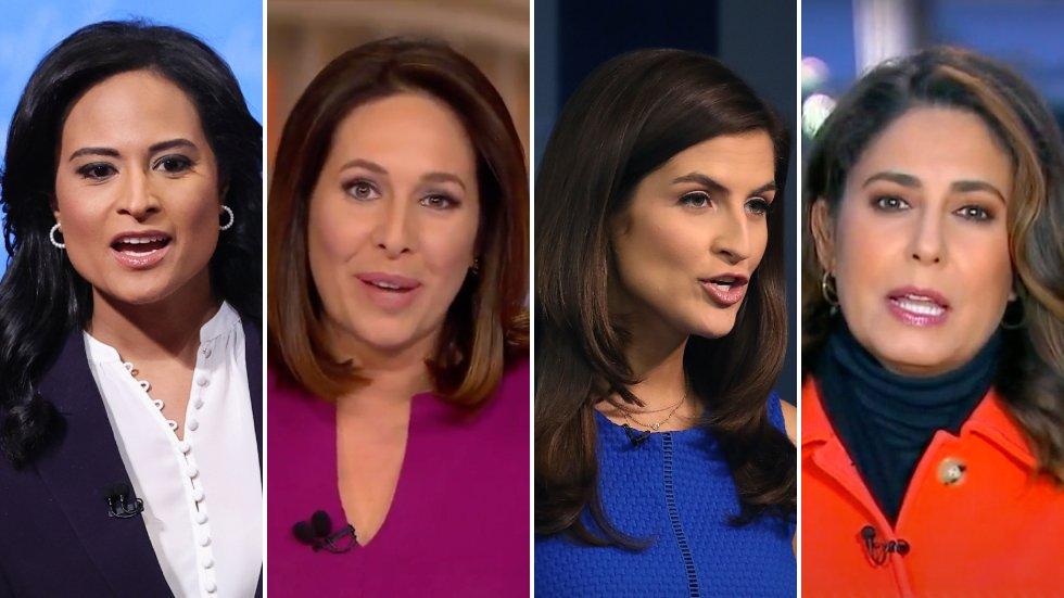 Women to lead major networks' White House coverage at start of Biden era