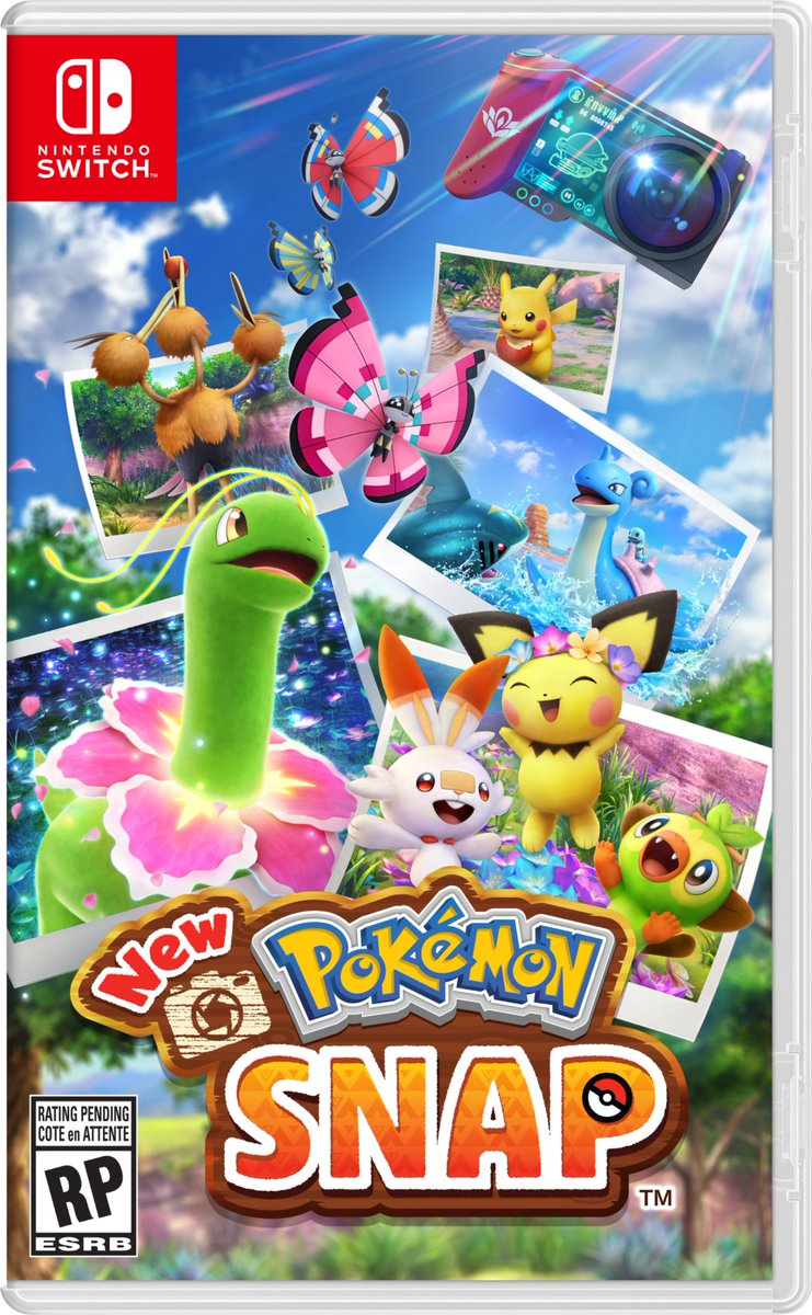 Excited to begin your #NewPokemonSnap adventure on the Lental islands? Pre-order the game before it arrives on 4/30, only on #NintendoSwitch!
