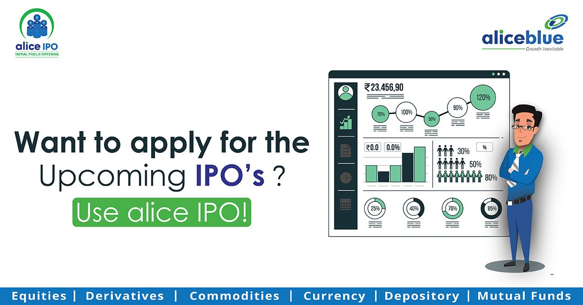 Want to apply for the upcoming IPO's?  Use Alice IPO  Click here -  #IPO #indigo #investmentsales #tradingstrategy #business #finance #money #investing #sales #financialservices #personalfinance #tradingapp #stockmarket #aliceblue #tradestore #Algo
