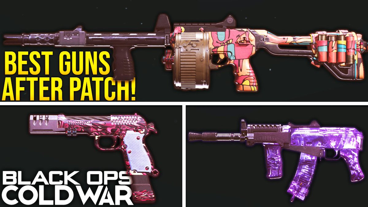 WhosImmortal - Today we're breaking down the best weapons and class setups after the Mid Season Update in #BlackOpsColdWar!   👉