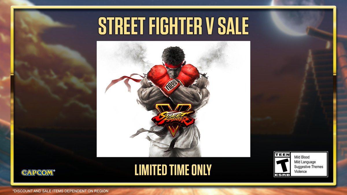 Get your hands on the original #StreetFighter V for 60% off during PlayStation's Under $20 Sale!   🛒