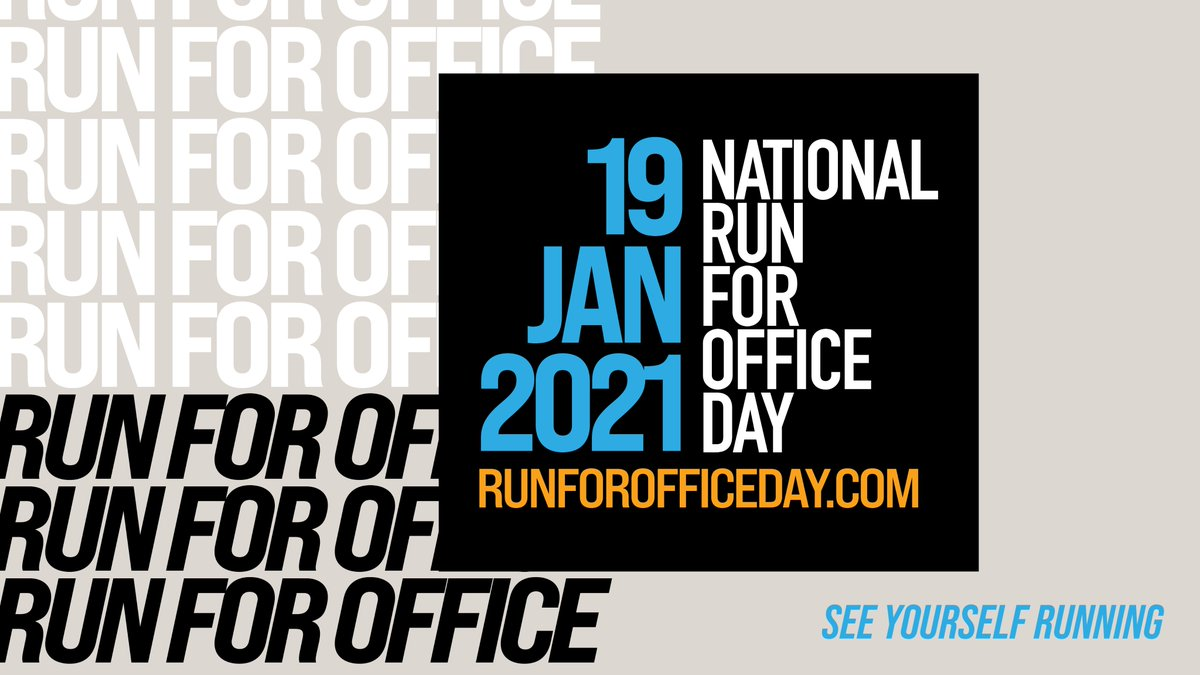 Black and Brown women organize, we get candidates elected, and we get elected. Celebrate #NationalRunforOfficeDay by...running for office: