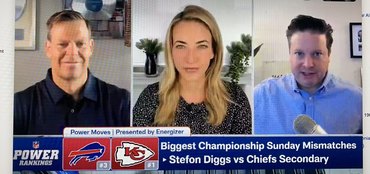 Turn on @nflnetwork now! Power Rankings is airing. @DanHanzus is mad as hell and he's not gonna take it anymore. @cfrelund isn't the least bit intimidated