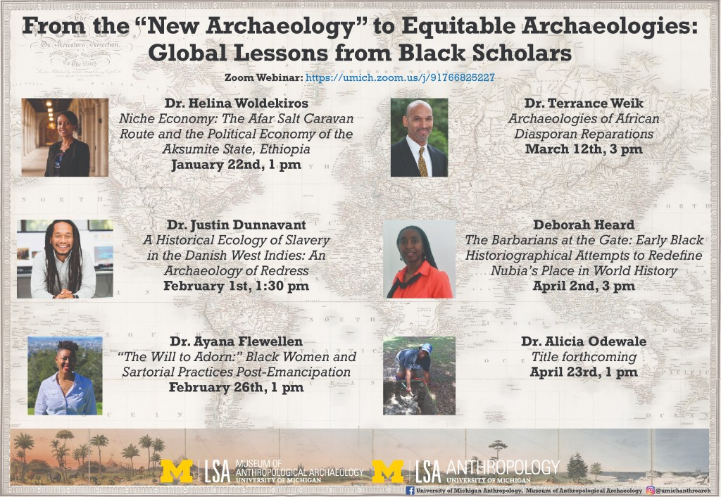 Lecture series organized by the University of Michigan Museum of Anthropological Archaeology