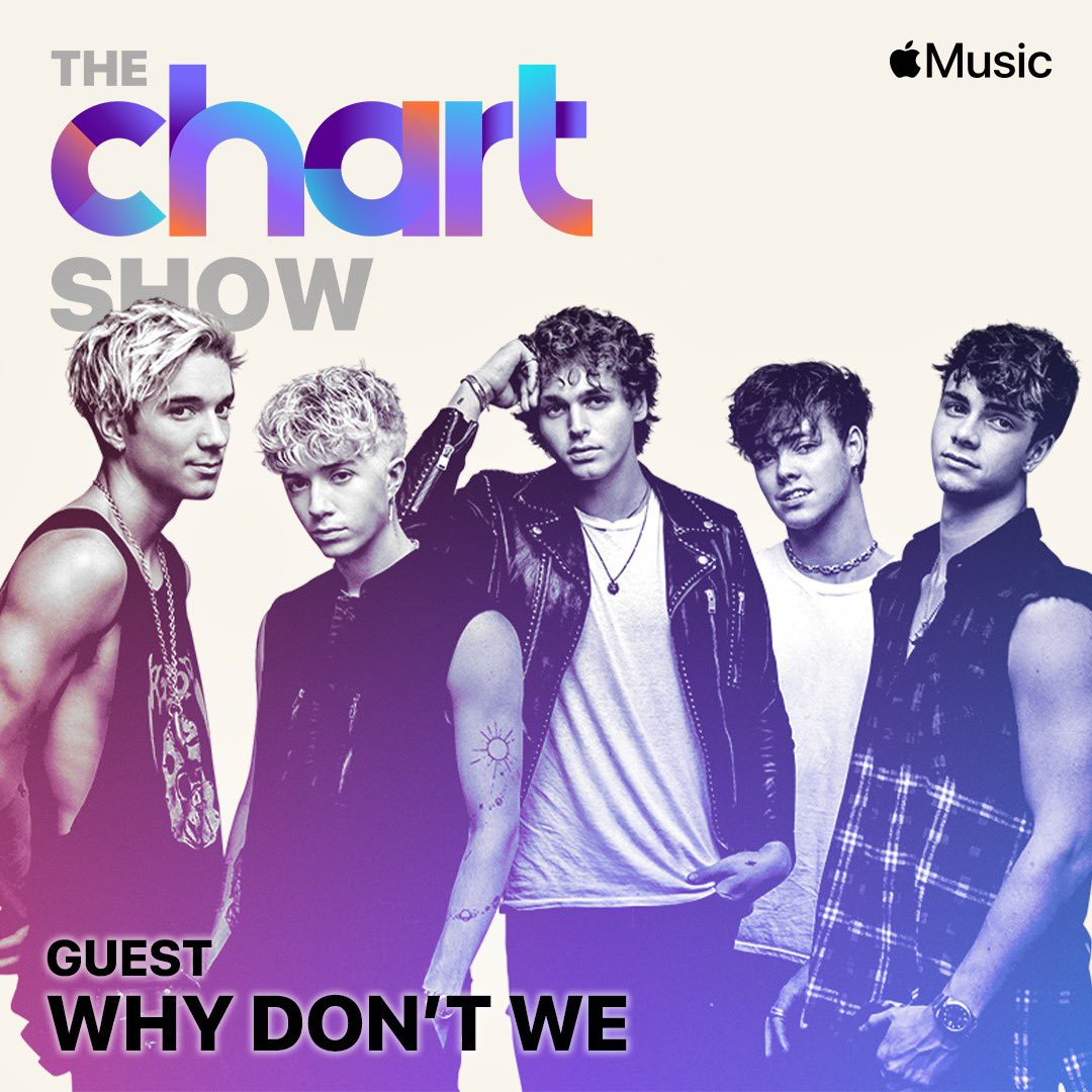we took over the chart show on @applemusic! listen tonight at 5 pm pst / 8 pm est. thanks so much for having us @BrookeReese 🖤 #TGTATBO https://t.co/gmy2n41tPr https://t.co/B9znYEv7kh