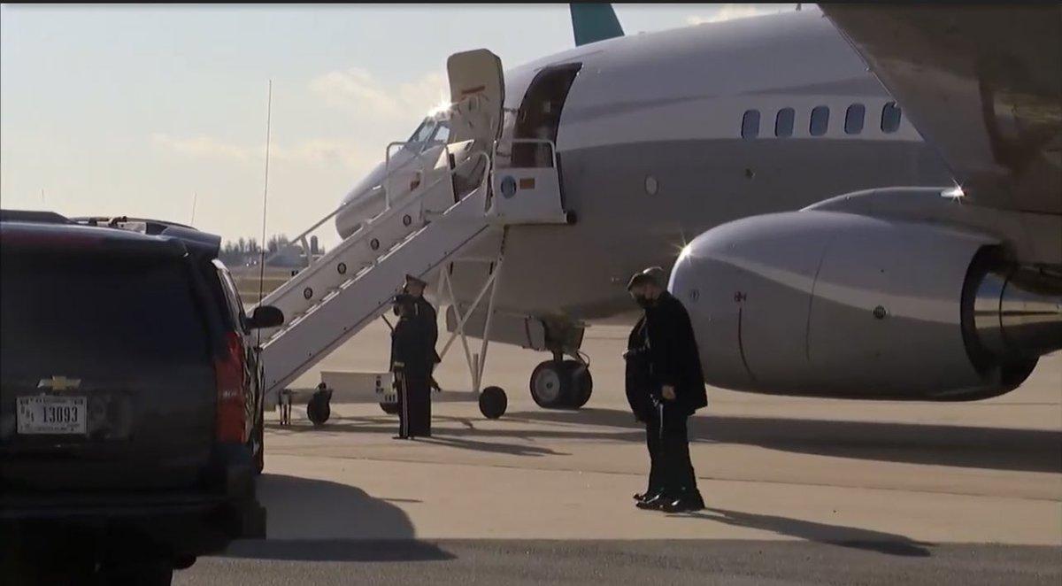 Joe Biden vliegt in 737 BBJ naar Washington N834BJ  #avgeek #avgeeks #aviation #planespotting #JoeBiden #InaugurationDay #Inauguration2021 #Inauguration