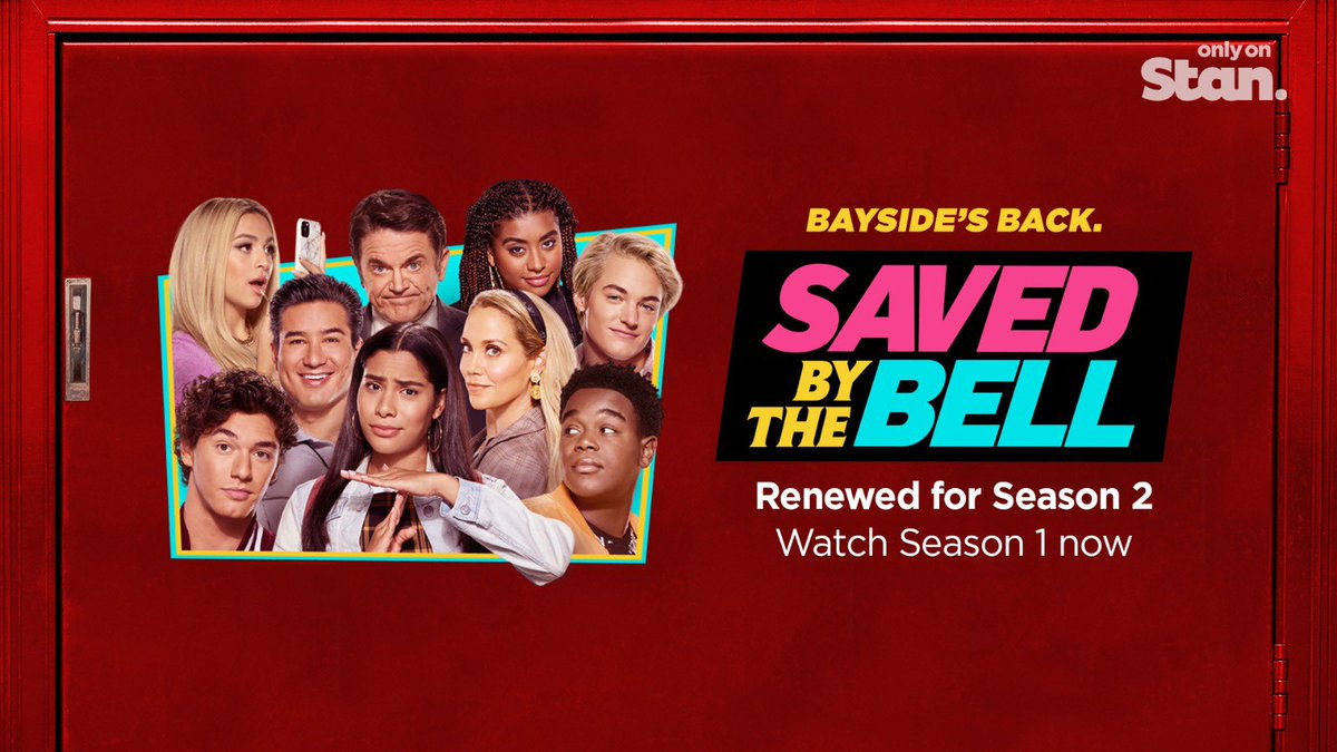 We're going back to Bayside…AGAIN! The brand new series of Saved By The Bell has been confirmed for a second season, coming only on Stan.