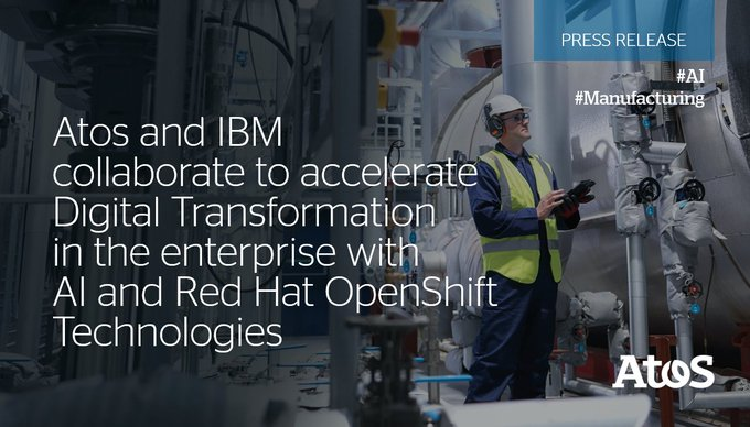 We are joining forces with @IBM to help companies accelerate their #DigitalTransformation and...