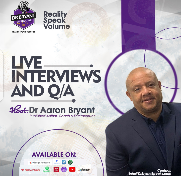 Dr. Bryant served in the US Army with special operations elite military unit called, Airborne Rangers. Dr. Bryant Speaks podcast show hits the reality button that is not always easy to hear. A topic that supports military families, veterans, and friends.  #veteransday #Veterans