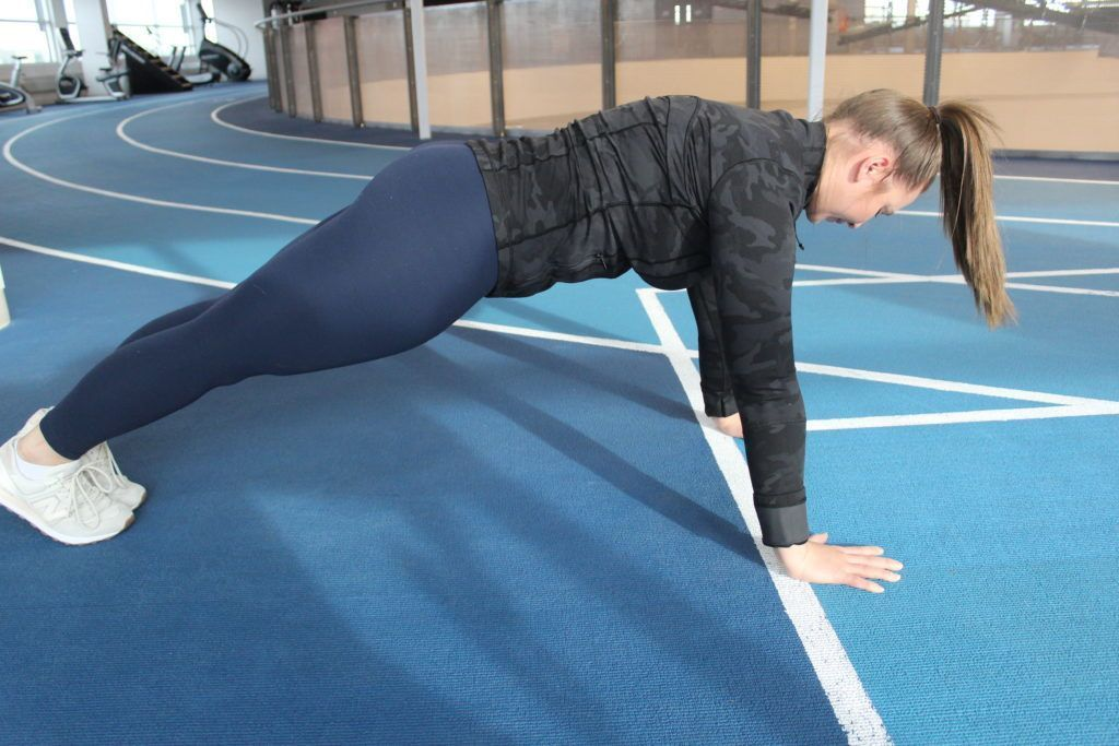 Our Fitness Team just posted a blog about how to do your first full push-up! Make sure your technique is solid, take proper progression, and then put the work in. Read it here: buff.ly/3isVLL4 #Fitness #Pushup #Workout