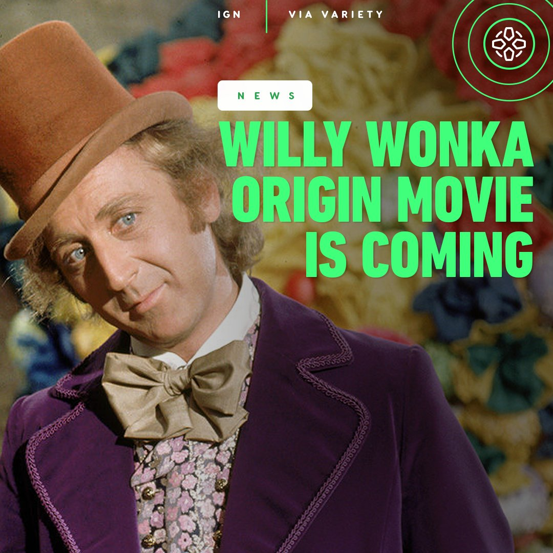 Warner Bros. is working on a Willy Wonka origin story titled Wonka. The film will serve as a prequel and will showcase the earliest days of the chocolate enthusiast.