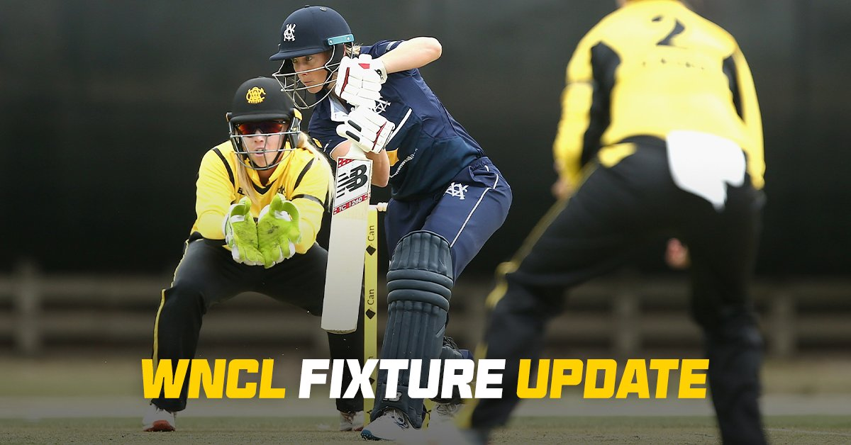 The opening seven matches of the 2020-21 Women's National Cricket League (WNCL) will be rescheduled, with the competition to kick off on February 3: