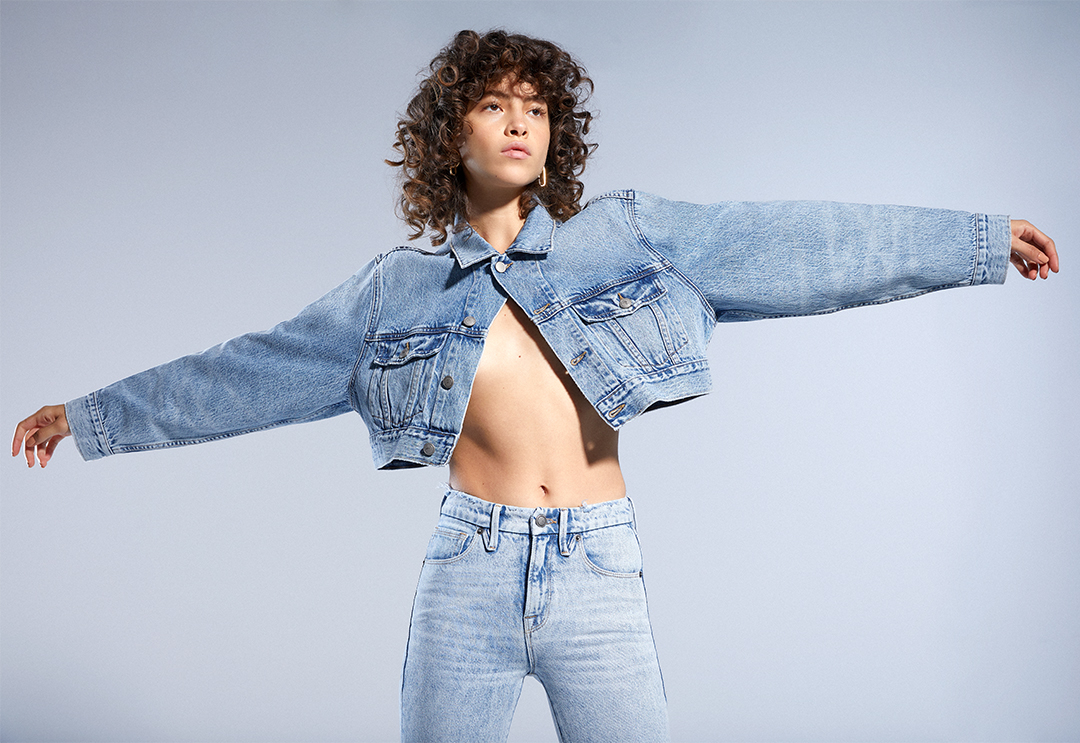 You can never have too much denim 💙 New American Classics Drop 1/21. Join the waitlist & be the first to shop!