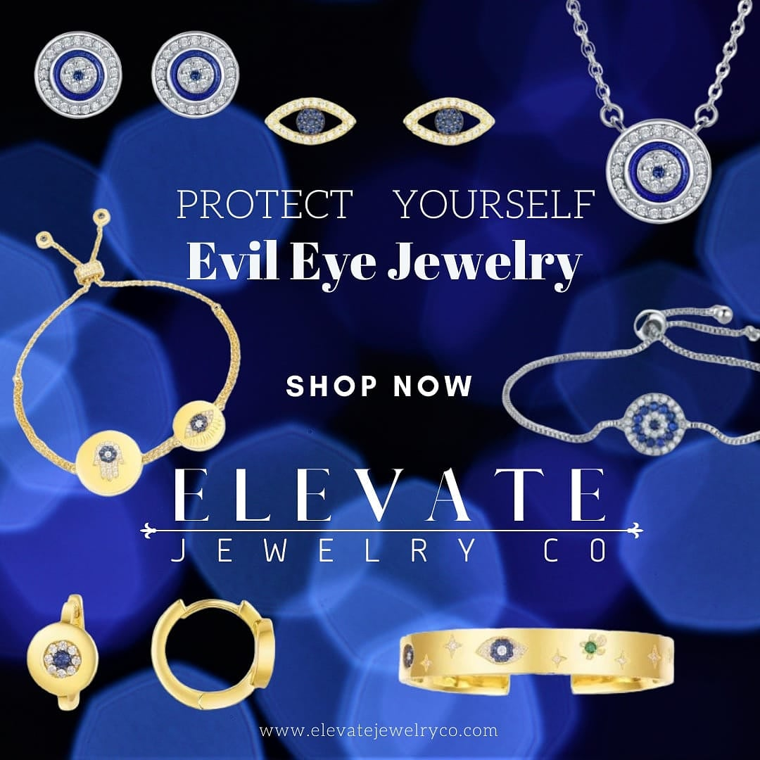 Lucky Eye Jewelry Shop now:    #elevatejewelryco #jewelry #jewellery #evileye #eyering #design #blueeye #talisman #Lucky #Goodluck #amulet #evileyejewelry #design #style #protection #faith #belief #meaning #style #spiritualprotection