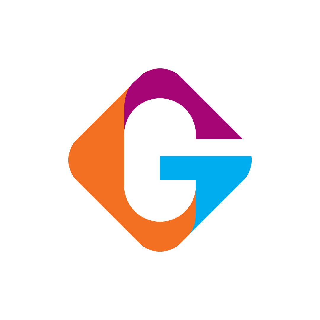 Colorful Letter G Logo for sale   #Modern #simple #unique #lettermark #design #vivid #interesting #fun #exciting #cheers #joy #techie #bright #professional #online #marketplace #life #coaching #technology #business #electronics #web #browser #payment