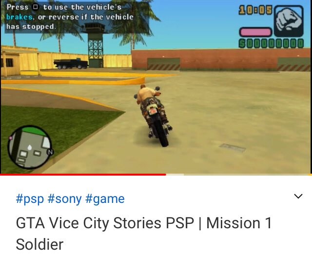 new video avalaible on   #game #gamer #gaming #gta #psp #YouTube #YouTubers