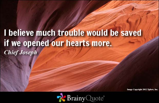 #open our hearts #caring
