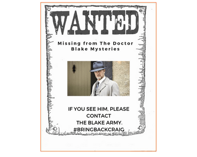 Lucien is missing from The Doctor Blake Mysteries. Please sign the petition to bring back Craig McLachlan and this wonderful Australian series. @Channel7 #BringBackCraig @Anne_McKevitt @VanessaScammell #WeWantMore